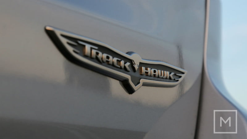 2018 Jeep Grand Cherokee Trackhawk logo