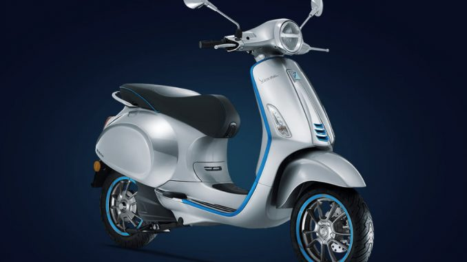 Vespa Electric Scooter >> Vespa Elettrica Piaggio S First All Electric Scooter Is