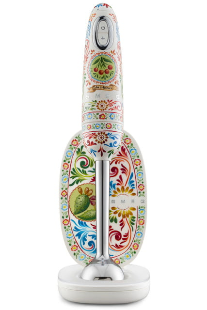 smeg dolce and gabbana unveil i love sicily small kitchen appliances hand mixer