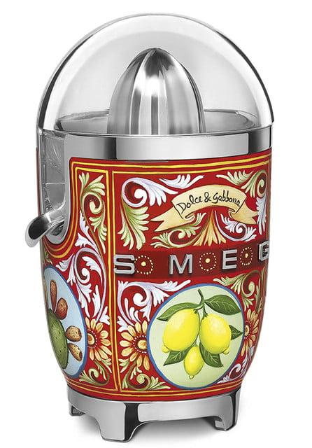 smeg dolce and gabbana unveil i love sicily small kitchen appliances citrus juicer