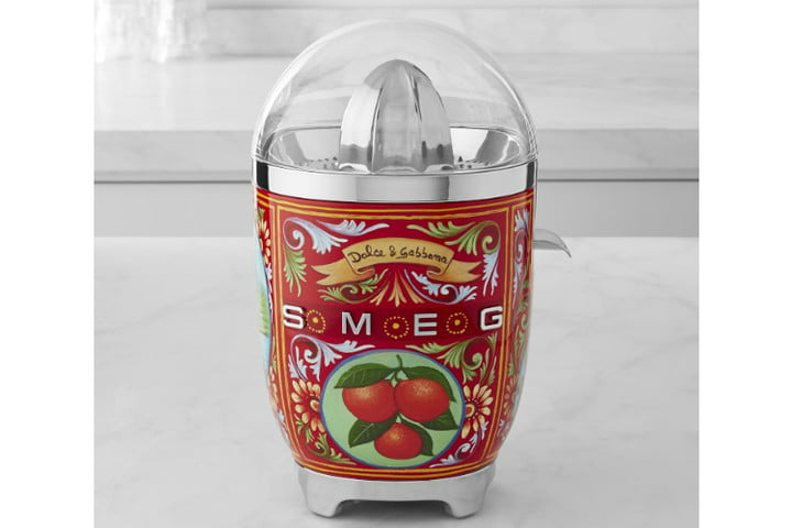 smeg dolce and gabbana i love sicily small kitchen appliances  citrus juicer ws