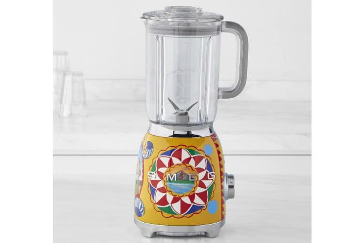 smeg dolce and gabbana i love sicily small kitchen appliances  blender ws