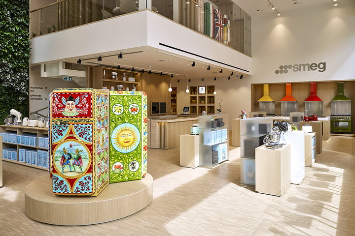smeg and dolce gabbana collaborate on 34k fridges london22795  2