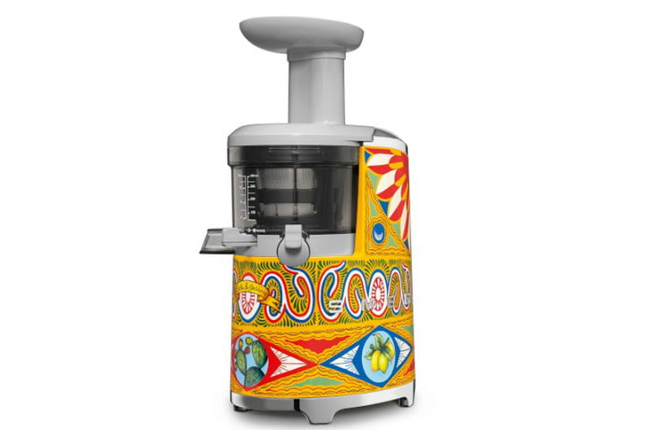 smeg dolce and gabbana i love sicily small kitchen appliances  slow juicer ws