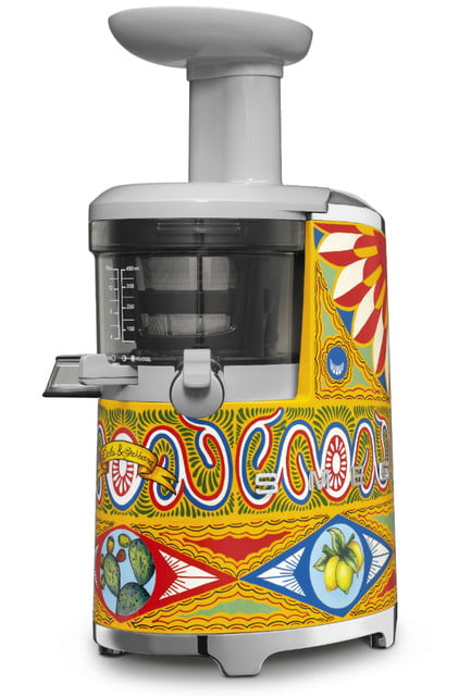 smeg dolce and gabbana unveil i love sicily small kitchen appliances slow juicer