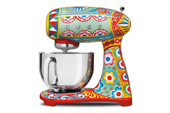 smeg dolce and gabbana i love sicily small kitchen appliances  stand mixer ws